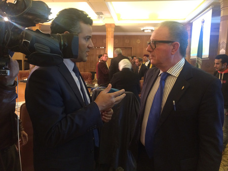 Forum League Arab Nations Tv Interview Torello Lotti