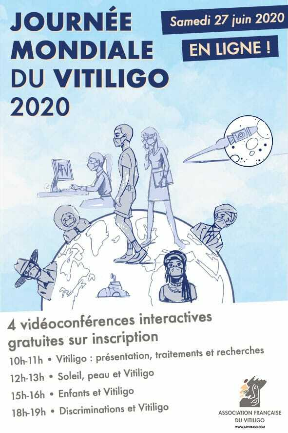 World Vitiligo Day 2020 France